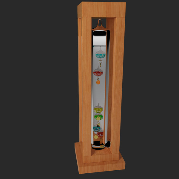 3ds max galileo thermometer