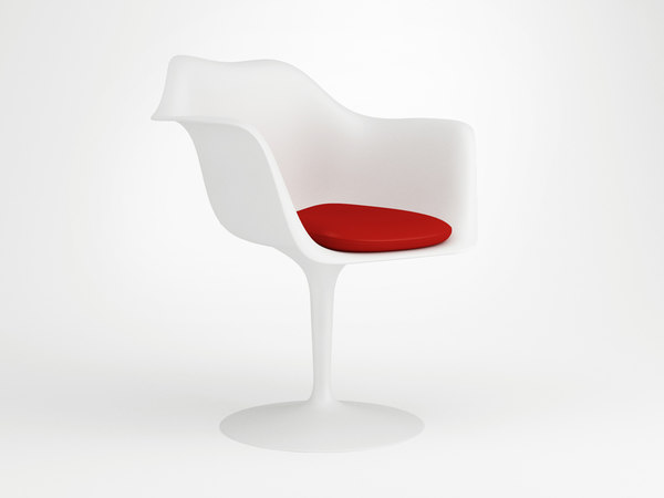 3d tulip chair model