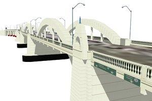 william jolly bridge 3d model