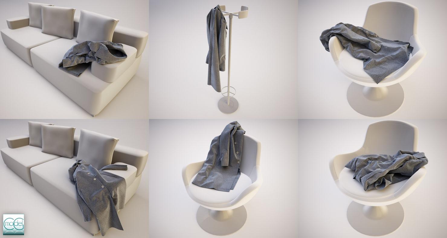 c4d coats positions