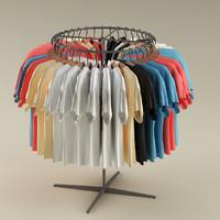 3d clothes model