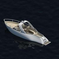 boat sports 3d model