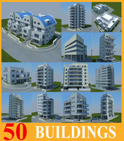 3d model of buildings