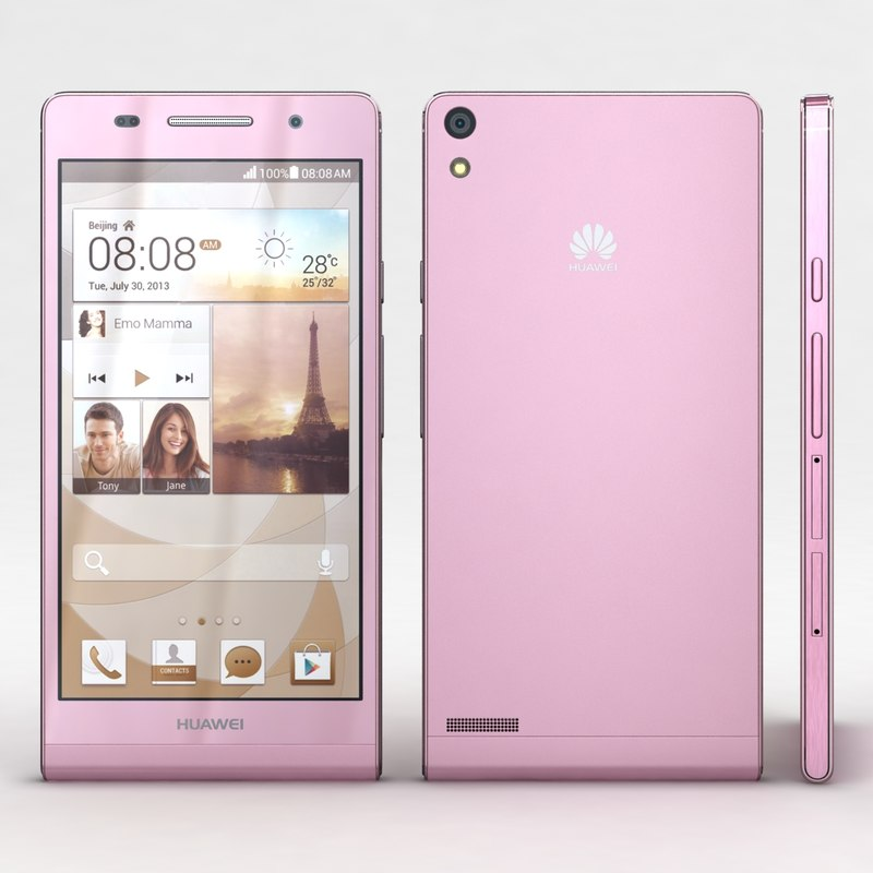 huawei ascend p6 pink max