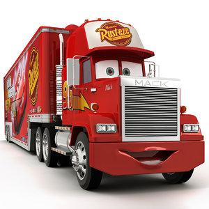 3d model of mack truck