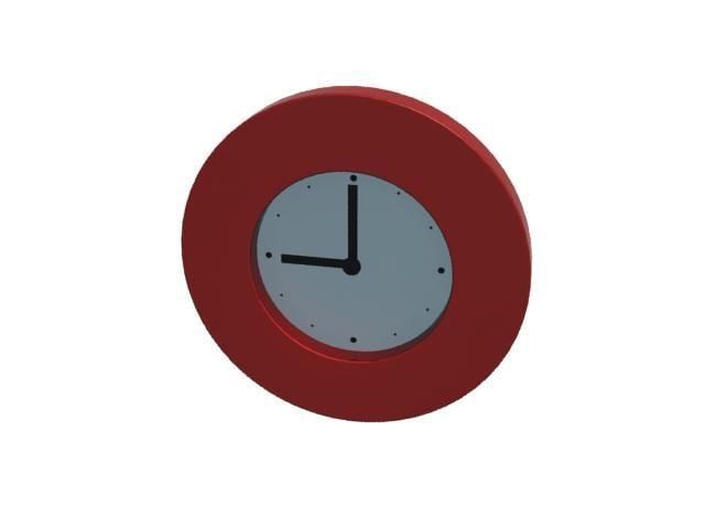ikea wall clock tajma 3d max
