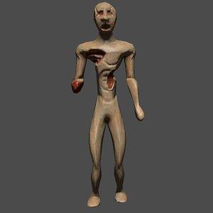 3d zombie animation