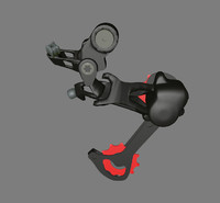Bicycle Rear Shifter Shimano XTR
