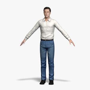 male character 3d model