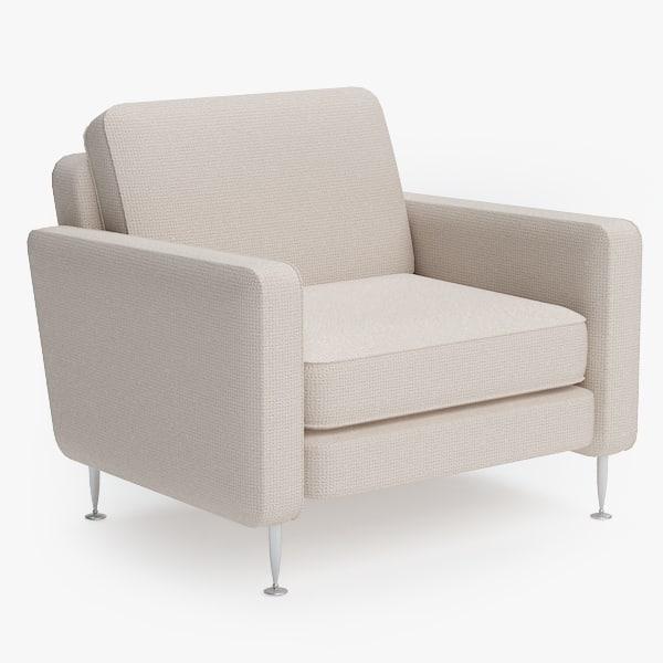3dsmax armchair chair