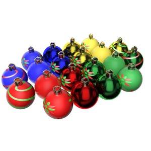 max customizable christmas balls