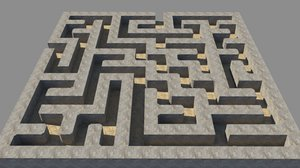 3ds max maze