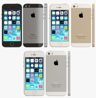 3d iphone 5s color model