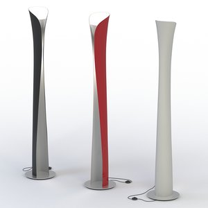 floor lamp artemide 3ds