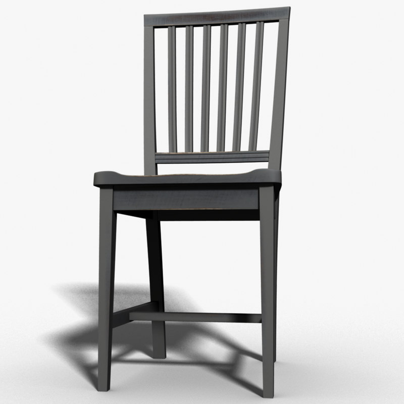subdivision chair 3d max