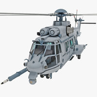 Eurocopter EC725 Caracal Tactical Transport Helicopter 5