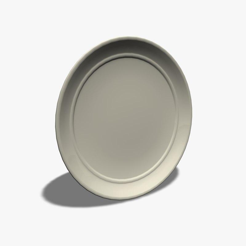 c4d dinner plate