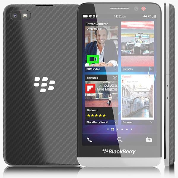 blackberry z30 3d max