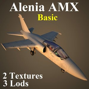 alenia amx basic 3d max