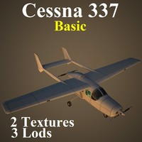 3ds max cessna 337 basic