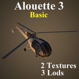alouette basic helicopter ma