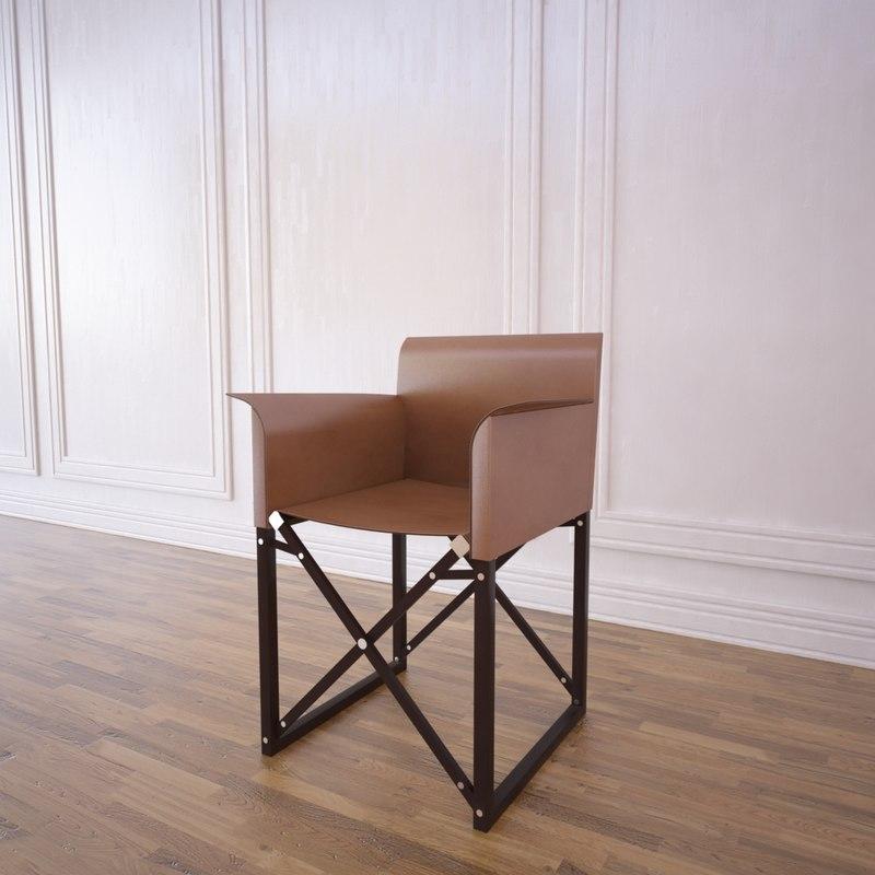 3d truffaut chair model