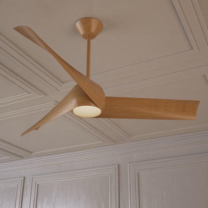 artemis ceiling fan 3d model