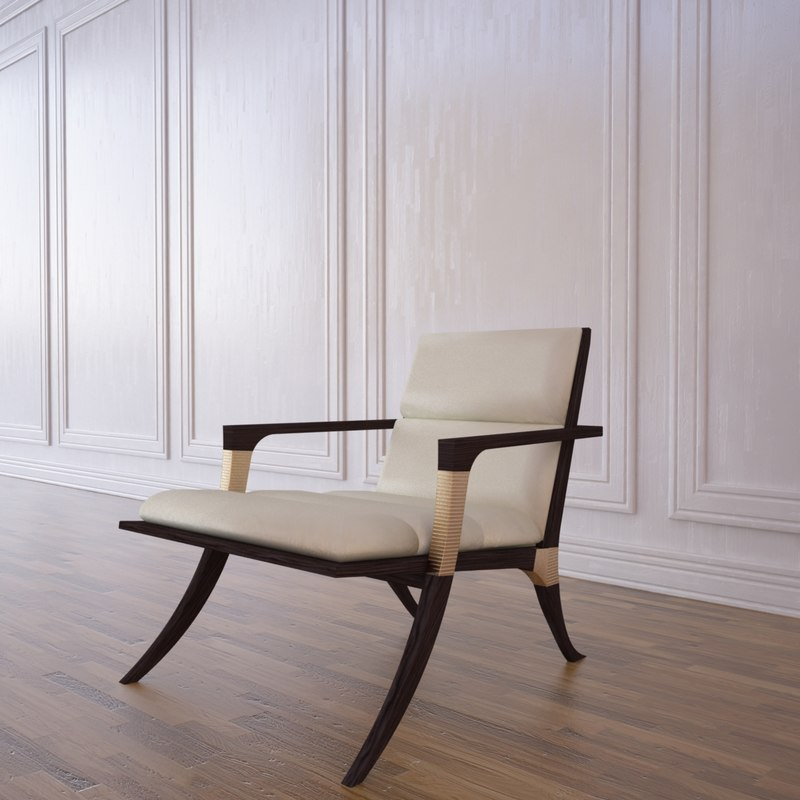 athens chair 3d model