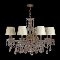 3d chandelier crystal model