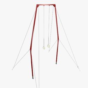 gymnastic rings 3d model