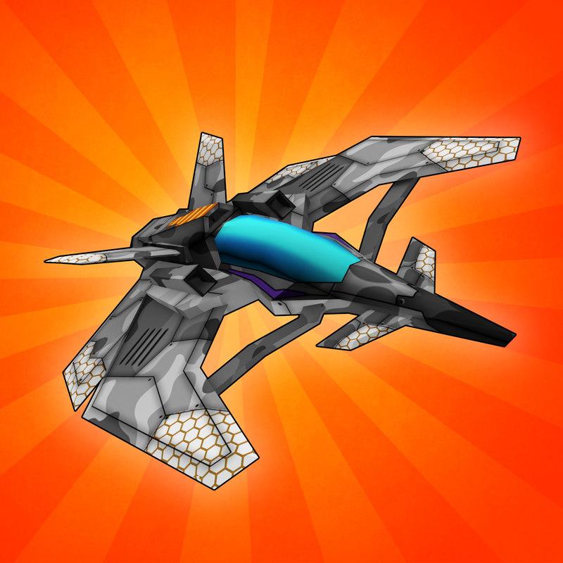 3d fi space fighter