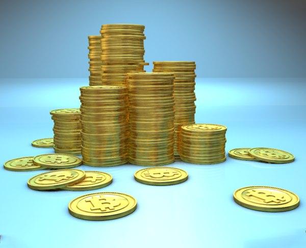 stack bitcoins c4d