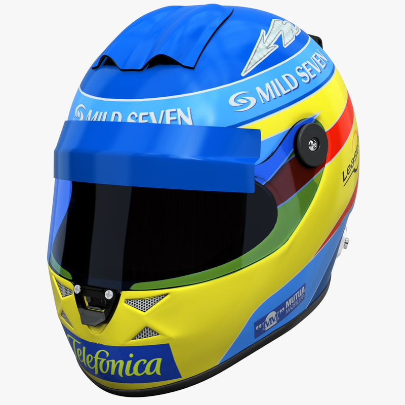 model racing helmet renault