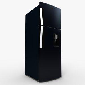 wt2530b refrigerator 3d model