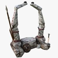 Altar (low poly)