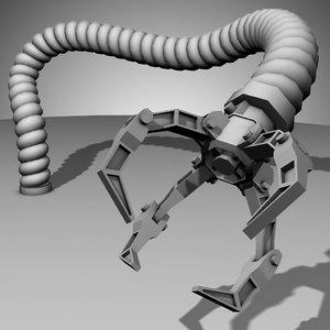 robot arm - 3d ma