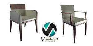 3d chair azure model