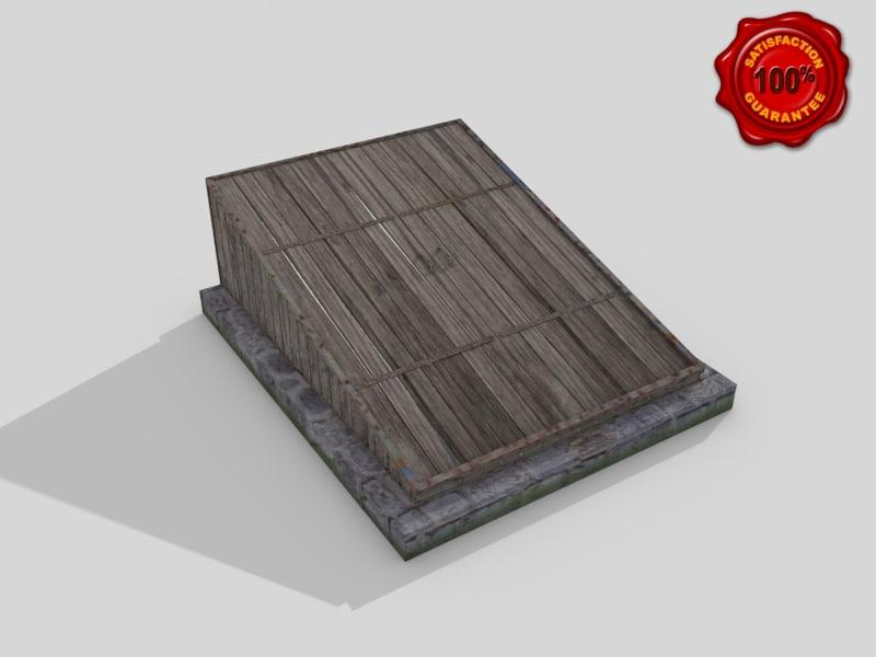 3d model cellar door