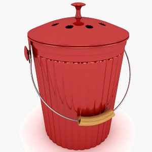 3ds max bucket modeled