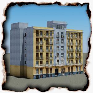 3d building 68 model