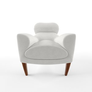 3d david linley aston armchair model