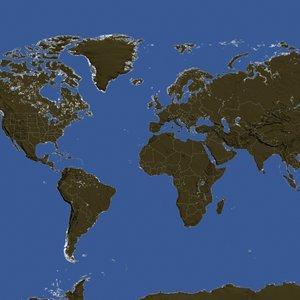 world hi res fbx