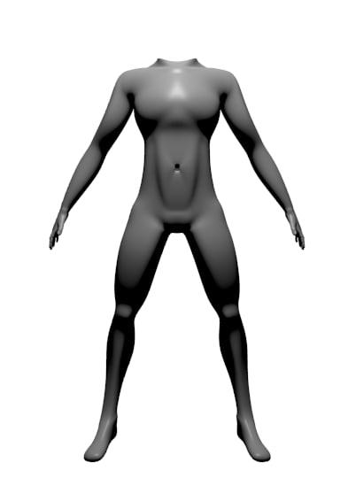 basemesh human-body obj free