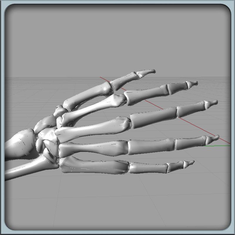 igs arm bones 3dm
