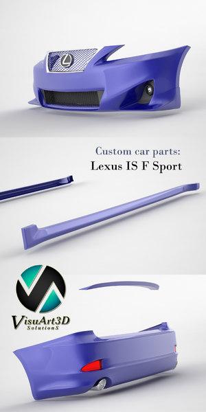 obj lexus car parts