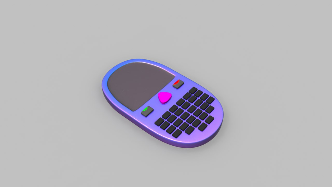 mobile phone 3d ma