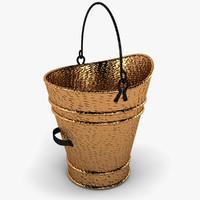 pellet bucket 3d max