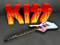 3d kiss paul stanley ibanez