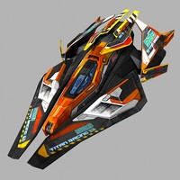 max scifi racing-ship 02