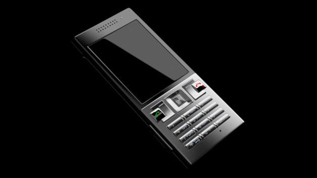cellphone sony ericsson t700 3d model
